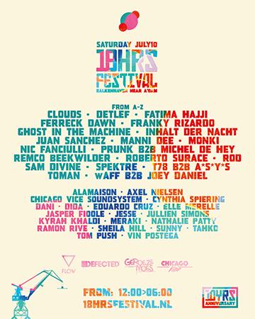 18HRS FESTIVAL 10 JULY 2021