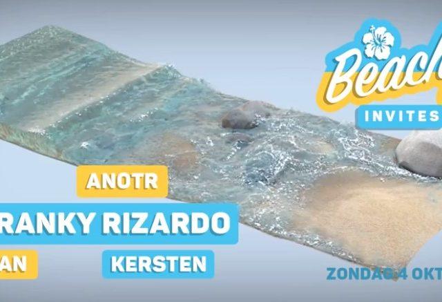 Beachy invites Franky Rizardo, ANOTR, Toman! [SOLD OUT]
